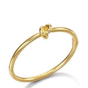 Kate Spade Sailor's Knot Gold Bangle Bracelet